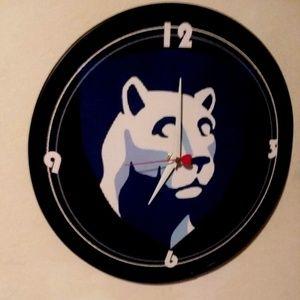 PENN STATE - NITTANY LIONS - 12 INCH WALL CLOCK